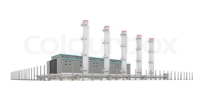 2484951-building-with-pipes-on-a-white-background